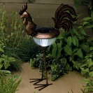 Solar Metal Cockerel