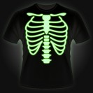 Glow T-shirt - Skeleton