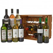 Twelve Bottle Wine Crate