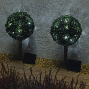 Solar Led Baytrees Twinpack