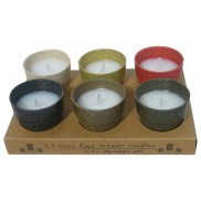 Biodegradeable Candles (6 Pack)