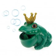 Bubble Blowing Frog