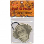 Cheeky Chimp Dj Air Freshener