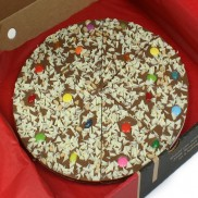 Jellybean Jumble Chocolate Pizza