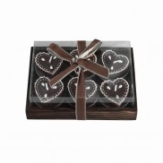 Chocolate T-light Candles (6 Pack)