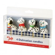 Dalmatian Candles (4 Pack)