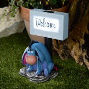 Eeyore Solar Welcome Sign