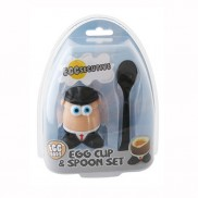 Egg Bod Egg Cups And Spoons