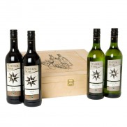 Wine Quartet in Wooden Case