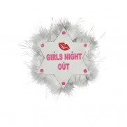 Flashing Girls Night Out Badge