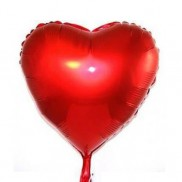 Foil Love Heart Balloon