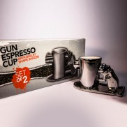 Gun Espresso Mugs