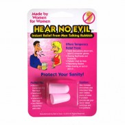 Hear No Evil Ladies Ear Plugs