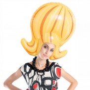 Inflatable Beehive Wig