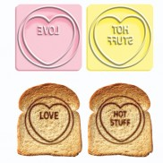 Love Hearts Toast Stamp