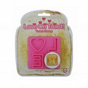 Love on Toast Toast Stamper