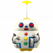 Luggo Robot Light Up Trolley