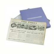 Original Newspaper Gift Box