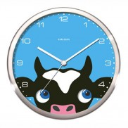 Peekaboo Cow Clock