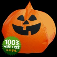 Pumpkin Flying Lanterns (5 Pack)