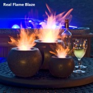 Portable Real Flame Gel Lamps