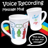 Recordable Message Mug