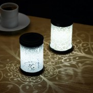 Silhouette Scroll Lanterns (6 Pack)