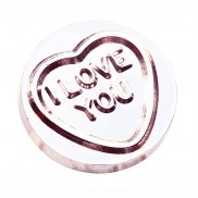 Silver Love Heart