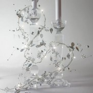 Battery Operated Silver Whisper Stringlights