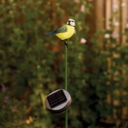 Solar Blue Tit Garden Light
