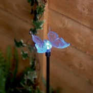 Solar Butterfly Garden Stake Light