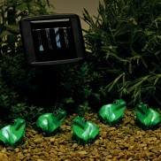 Solar Frog String Lights