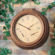 Solar Garden Clock