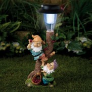 Solar Gnome Lamp