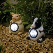 Solar Animal Lights