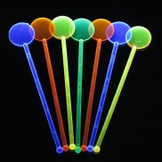 Uv Neon Cocktail Stirrers (25 Pack)