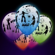 Uv Disco Balloons (25 Pack)