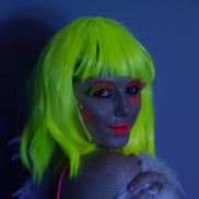 Uv Reactive Wigs
