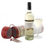 Festive White Wine Gift